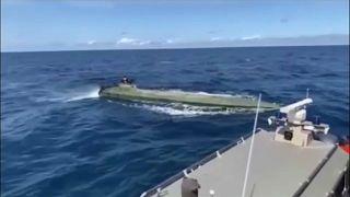 """Colombie : deux tonnes de cocaïne dans un """"narco sous-marin"""""""