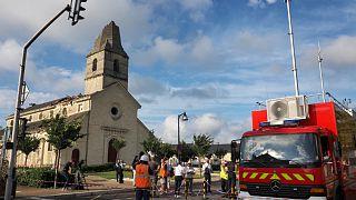 كنيسة سان نيكولا دو بورغاي في فرنسا- أرشيف