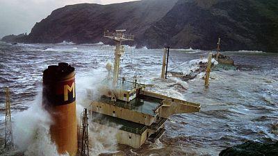 The last damaging crude oil leak in the Shetland Islands in 1993.