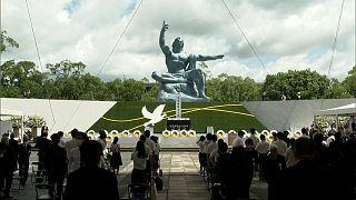 ناکازاکی در هفتاد و ششمین سالگرد بمباران اتمی به قربانیان ادای احترام کرد