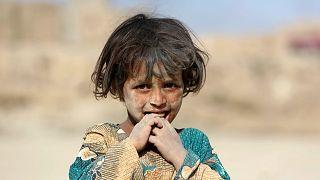 Afganistan'ın başkenti Kabil'de bir kız çocuğu (arşiv)
