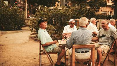'Charla al fresca' are common across Spain as a way to escape the heat on summer evenings.