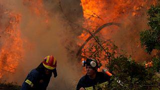 آتشسوزی در یونان