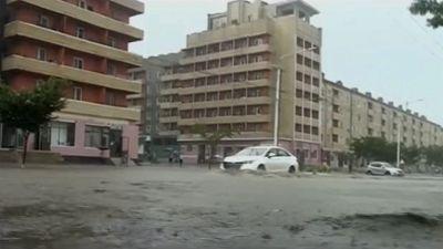 North Korea is experiencing devastating floods.