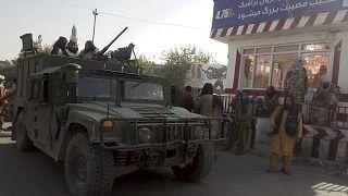 Archives : combattants talibans à Kunduz, dans le nord-est de l'Afghanistan, le 9 août 2021