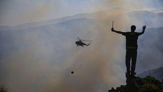 Тушение пожаров в Манавгате