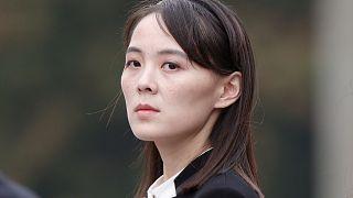 كيم جونغ أون الشقيقة النافذة لزعيم كوريا الشمالية.