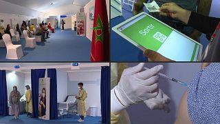 مركز اللقاح الرقمي ضد كوفيد 19 في المغرب