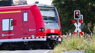 Un treno della Deutsche Bahn