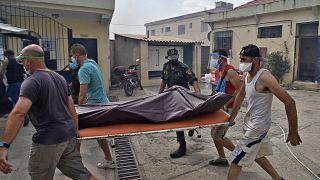 Une quarantaine de morts lors d'incendies dans le nord de l'Algérie
