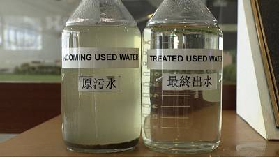 While most of the wastewater is used for industrial purposes, some of it is added to drinking water supplies.