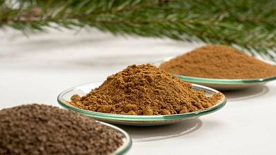 Finnish sustainable material developers have opened a mill that turns powdered tree macromolecules into energy