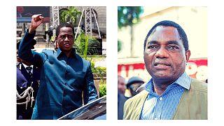 Zambie : Edgar Lungu vs Hakainde Hichilema