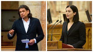 Deutsch Tamás fideszes és Cseh Katalin momentumos EP-képviselő