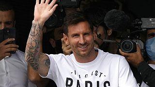 Lionel Messi em Paris