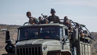 Etiyopya ordusuna bağlı askerler