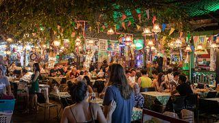 Nachtleben in Bangkok, Thailand