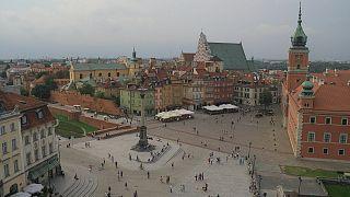 القلب التاريخي للعاصمة البولندية وارسو