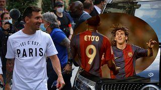 Messi à Paris, au bonheur d'Eto'o