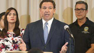 Le gouverneur Ron DeSantis, le 10 août 2021.