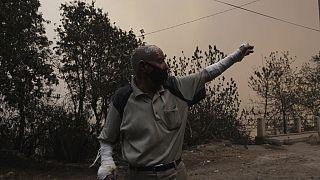 Algérie: plus de 40 morts dans les incendies qui ravagent le nord