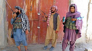 Combattants Taliban à Farah
