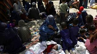 Internally displaced Afghans from northern provinces