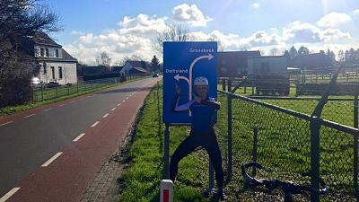 Anna McNuff's Facebook followers voted on which direction she should turn as she cycled across Europe.