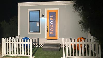 Elon Musk is reportedly living in the Casita, one of Boxabl's tiny homes.