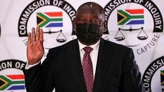 """Afrique du Sud : """"J'ai refusé de démissionner pour résister à la corruption"""" Ramaphosa"""