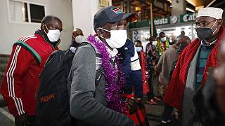 Kenya's Kipchoge back home after Olympic success