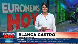 Blanca Castro en Euronews Hoy