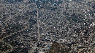 Afganistan'ın başkenti Kabil'den genel bir görüntü