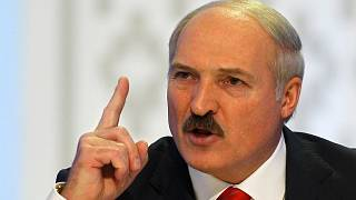 Alexander Lukashenko speaks during a news conference after preliminary election results show him overwhelmingly winning a fourth term in Minsk, Belarus, Monday, Dec. 20, 2010