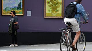 Выставка на Трафальгарской площади