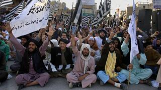supporters of the Taliban