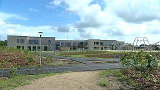 Escola Frello em Varde, na Dinamarca