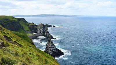 Rathlin Island is an island and civil parish off the coast of County Antrim in Northern Ireland.