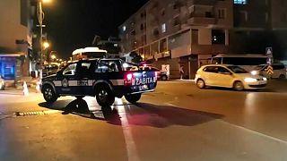 خودروی پلیس ترکیه در آنکارا،