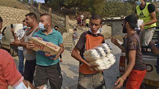 Algérie : élan de solidarité face aux incendies