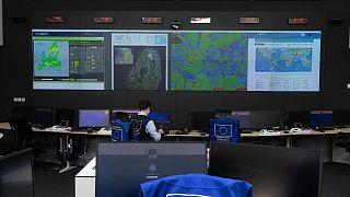 Az Európai Veszélyhelyzet-reagálási Központ Brüsszelben