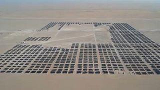 autógumi-temető Kuvaitban