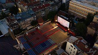 Das Open-Air-Festival-Kino in Sarajevo