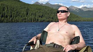 Sibirya'da tatil yapan Rusya Devlet Başkanı Vladimir Putin