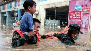Más de 20 muertos y miles de afectados por las lluvias en el centro de China