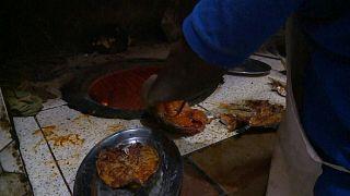 طبق السمك اليمني يشتهر في جيبوتي.
