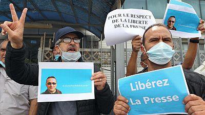 L'Algérie s'indigne après la condamnation d'un journaliste