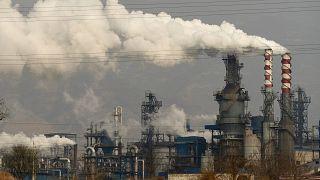 Çin'de kömürle çalışan santraller