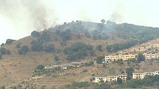 Les incendies font rage, ici en Italie.
