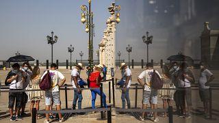 تصاویری از اسپانیا؛ گرمای هوا در مادرید از ۴۰ درجه سانتیگراد گذشت